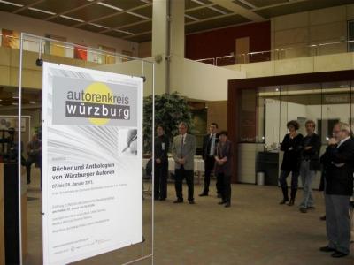 Literarischer Neujahrsempfang, Autorenkreis Würzburg 2011