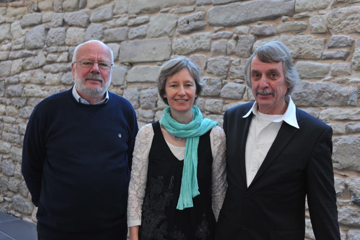 Hanns Peter Zwißler, Martin Heberlein und Ulrike Schäfer